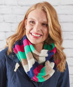 Easy Stripes Cowl