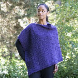 Deep Purple Poncho