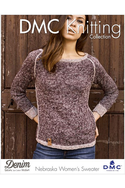 934e75fba48696 Nebraska Women s Sweater Free Knitting Pattern. Nebraska Women s Sweater.  Click to Enlarge