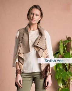 Stylish Vest Knitting Pattern for Women
