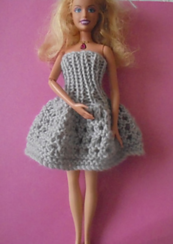 Knitting Patterns Galore Simply Stylish Barbie Dresses