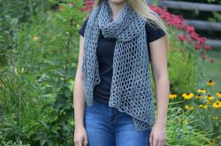 Sterling Lace Scarf