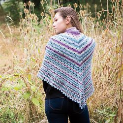 Downpour Shawl