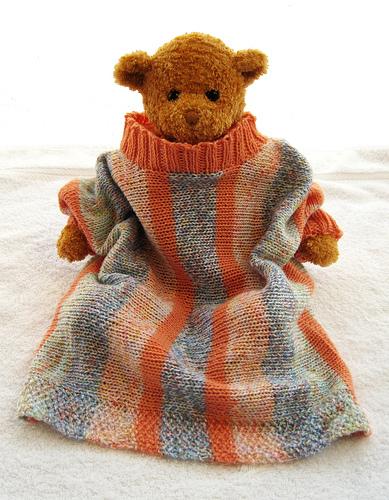 Knitting Patterns Galore Sideways Seamless Baby Sweater