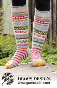 Winter Carnival Socks