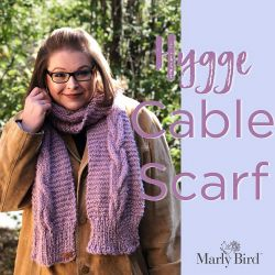 Hygge Cable Scarf