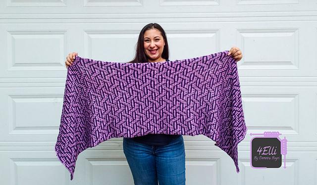 Knitting Patterns Galore - Key Shawl