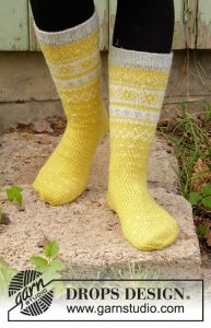 Lemon Pie Socks