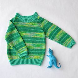 Universal Yarn Stripe-o-saurus Sweater