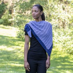Hampton Blues Shawl