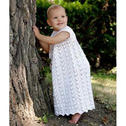 Lily of the Valley Christening Gown