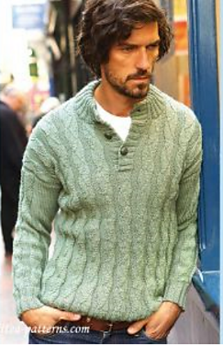 270646d11f2399 Men s Jumper Free Knitting Pattern. Men s Jumper · Click to Enlarge