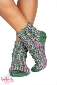 Lollipop Forest Socks