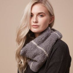 Rowan Striped Snood