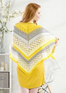 Sunshiny Day Shawl