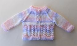 Wave of Light Baby Cardigan
