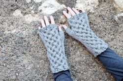 Celtic Cable Fingerless Gloves