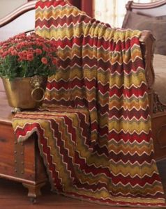 Autumn Waves Blanket