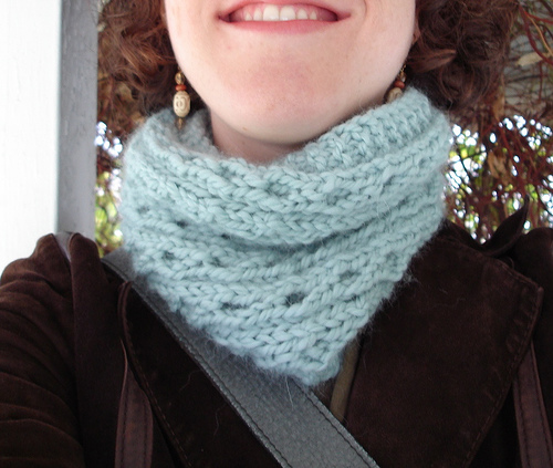 Knitting Patterns Galore Quickie Cowl