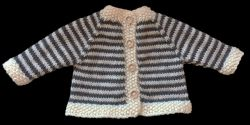 All-in-one Baby Cardigan