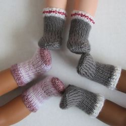 "Socks for 14"" Dolls"