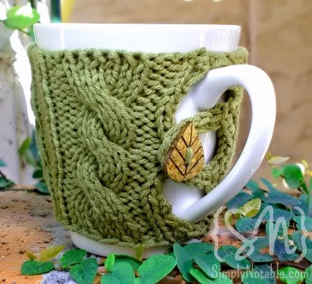 Knitting Patterns Galore Button Up Your Cup