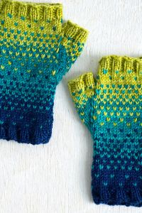 Drops of Spring Mitts