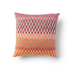 Bernat Fantastic Fair Isle Pillow