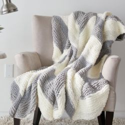 Bias Stripe Blanket