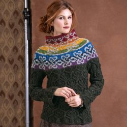 Vogue Knitting Cliffs of Moher Sweater