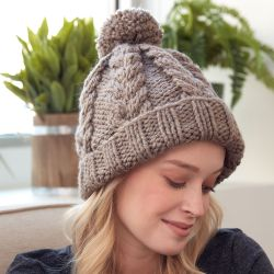 Bernat Cozy Cable Hat