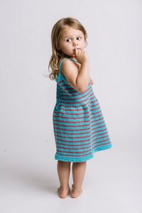 Aloha Stripes Beach Dress