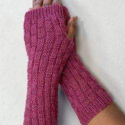 Electra Lite Textured Fingerless Gloves