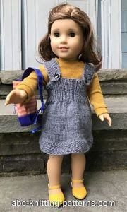 American Girl Doll Back-to-School Jumper