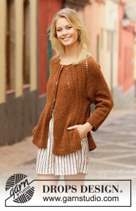 Autumn Spice Cardigan