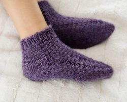 Toasty Warm Autumn Socks