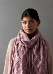 No-Cable Cable Scarf