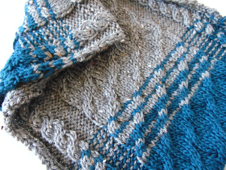 Knitting Patterns Galore - Cabled Cowl