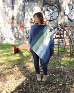 Warm Waves Poncho Wrap