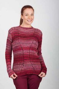 Ribbed Hourglass Pullover