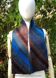 Easy Breezy Bias Scarf