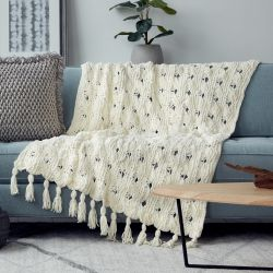 Criss-Cross Stripes Blanket