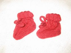 Ruth's Perfect Baby Booties