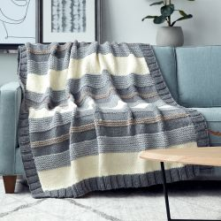 Simple Stripe Blanket