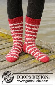 Candy Cane Lane Socks