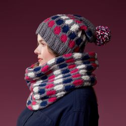 Fair Isle Hat and Cowl