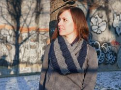 Lovely Lattices Infinity Scarf