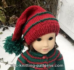 American Girl Doll Santa's Helper Stocking Cap