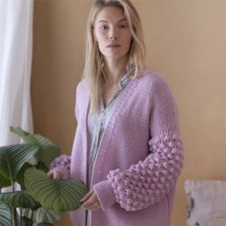 Novita Women's Cardigan in Isoveli