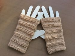 Warm Hands Fingerless Mitts